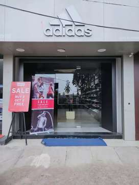 Urgent requirement in adidas store Berhampur for sales