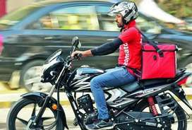 Bike food delivery jobs zomoto IMMEDIATELY joining