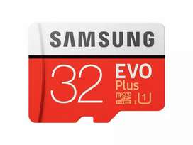 Memory card 32gb 3 months warranty