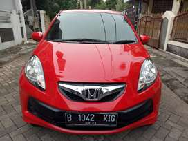 Honda brio s manual 2016 merah good conditions