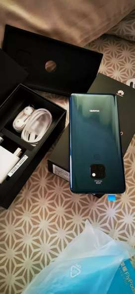 Huawei mate 20 6gb 128gb complete box pta approved