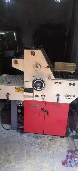 Xerox Offset, mini paper printing machine , Hamada 612 cd ,12/18, Size
