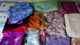 16 sarees,with good fabric,for daily use