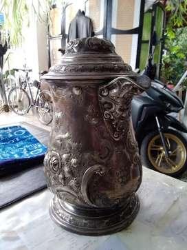 Silver 900 karaffe 1,150 kilo 1870 import germany