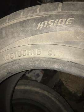 Tyres normal used