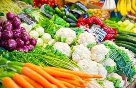 Wanted Sales Girls For Vegetables Seller