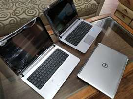 Just like new condition**laptops**core i5**series at one place*hp dell