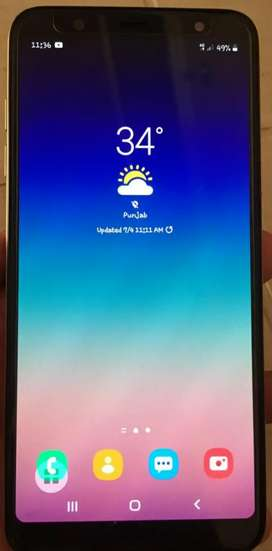Samsung a6 plus 64GB 4GB
