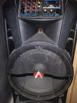 Audionic Speakers SP-II with digital display (Available for rent)