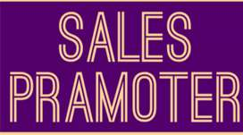 Urgently opening in Sales pramoter