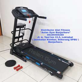 Ready Treadmill Elektrik Auto Incline 2hp