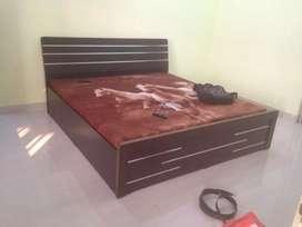 0% emi Bajaj Finance double bed