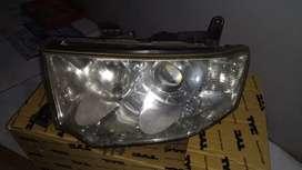 Dijual head lamp atau lampu depan pajero sport exed, bekas copotan