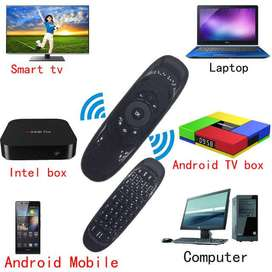 Fly Air Wireless Mouse Remote Control Mini Keyboard for Android & PC