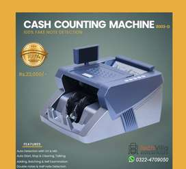 8003-D Cash counting machines note counting machines 100000% Fake note