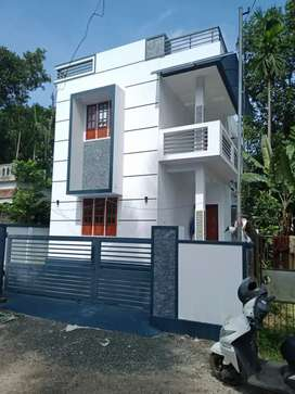 3 bhk 1300 sqft  ready to occupy at aluva paravur road thattampady