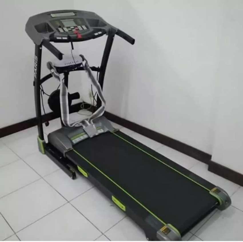 Treadmill paris elektrik auto incline 0