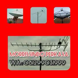 Terima Service Antena TV Pondok Cina Depok