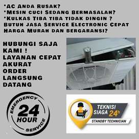 Service AC Tidak Dingin Servis Mesin Cuci Kulkas Tarik Sidoarjo