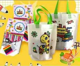 Tas kreatif, tas mewarnai, kreatifitas anak, tas pintar