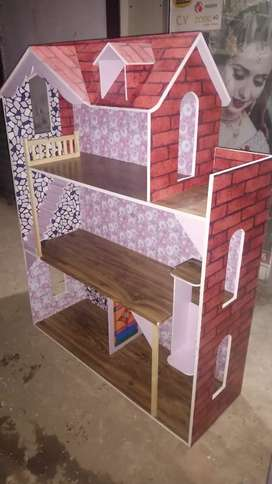 Wooden Doll house .2020  PVC. All kind of Doll house.