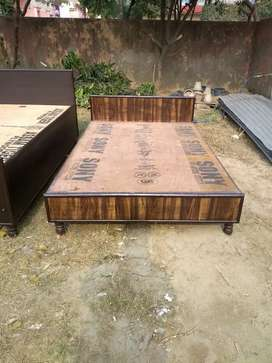 Low height new single bed (6*4) without box available