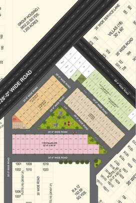 Royale Waterfront- Plots in Gated township, 10mins from Zirakpur NH64