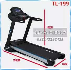 Treadmill elektrik TOTAL auto incline mewah