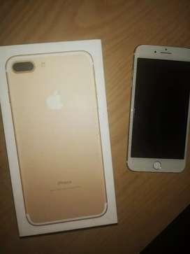 IPhone 7+ gold 64 GB