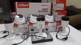 Paket TERMURAH CCTV DAHUA,SPC,AHD,HIKVISION DI JAMIN BENING / JERNIH