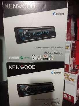 Kenwood single din kdc bt630u bluethoot cd mp3 music