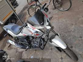 CBZ xtreme 150cc with one disc break