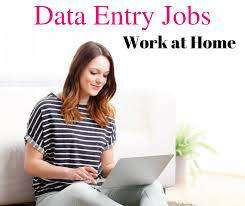 data entry typing work at home computer and laptop is must