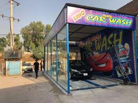 Car wash First full touchless automatic car wash machine with polish