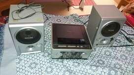 DVD player radio and speaker