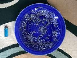 Piring Kuno Motif Naga Biru Banyak Pilihan OLX 06