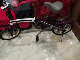 "Sepeda lipat EXOTIC 16"" by pacific, 6 speed. mantap"