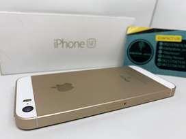 iPhone SE 64GB lengkap Mulus No Minus harga Murmer