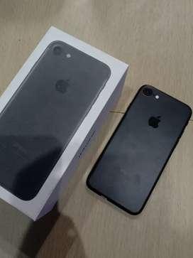 IPhone, IPhone 7 Black Matte 256GB Fullset !!!