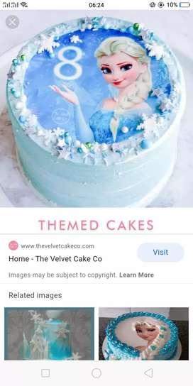 Need a cake maker