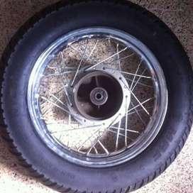 Avenger tyre and rim