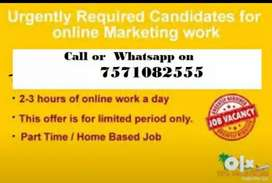 Get paid daily for typing work done from mobile or PC