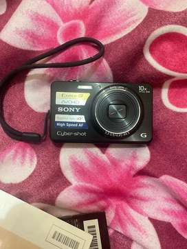 Sony cybershot DSC-WX150 camera