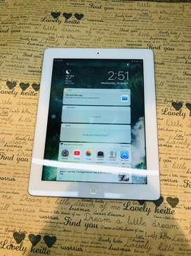 iPad 4 cellular 128gb silver
