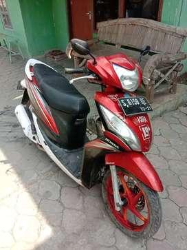 Honda spasy th 2011 plat Bojonegoro surat lengkap pajak hidup