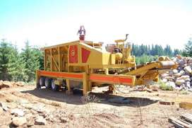 Jual Stone Crusher Mobile kapasitas 40 TPH