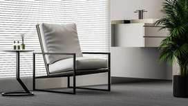 Moriotti arm chair / kursi santai / kursi sofa / industrial /