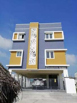 2 Bhk Apartment for sale at Mudichur tambaram west