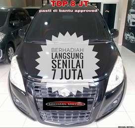 Suzuki Splash GL AT DP8 JT MURAH 2014 Hitam Metalik Like New