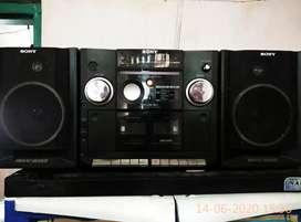 Mini compo Sony CFS 929S MK2, Maxi bass